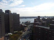 Zona este de Manhattan Imágenes de archivo libres de regalías