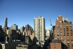 Zona este superior, New York City Foto de archivo