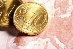 Zona euro Immagini Stock