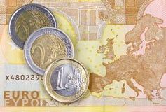 Zona euro Imagenes de archivo