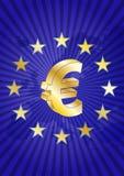 Zona euro Fotografie Stock