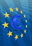 Zona euro Imágenes de archivo libres de regalías