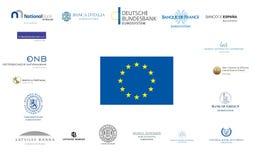 Zona euro Immagini Stock Libere da Diritti