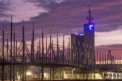 Zona fieristica di Hannover Immagine Stock