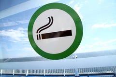 Zona fumatori Immagini Stock