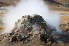 Zona geotermica di Hverir Fotografia Stock Libera da Diritti