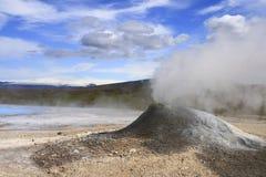 Zona geotermica Hveravellir Fotografie Stock