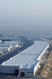 Zona industrial Imágenes de archivo libres de regalías