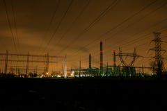 Zona industrial Imagens de Stock