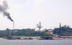 Zona industrial Fotos de Stock Royalty Free