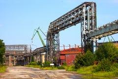 Zona industrial foto de archivo libre de regalías