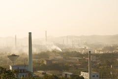 Zona industriale Immagini Stock