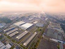 Zona industriale Immagini Stock Libere da Diritti