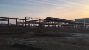 Zona industriale abbandonata in Sesto San Giovanni, Italia Europa video d archivio
