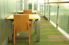 Zona leggente delle biblioteche Fotografia Stock
