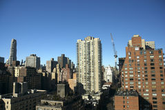 Zona leste superior, New York City Foto de Stock