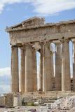 Zona oriental del Parthenon Foto de archivo libre de regalías