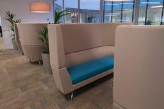 Zona para sentarse comercial cómoda Fotografía de archivo libre de regalías