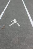 Zona pedestre Foto de Stock Royalty Free
