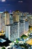 Zona residenziale di Hong Kong Immagini Stock Libere da Diritti