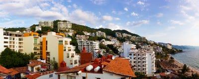 Zona Romantica en Puerto Vallarta Foto de archivo libre de regalías