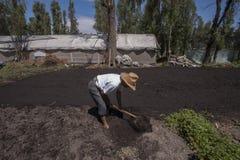 Zona rural em Cidade do México imagens de stock royalty free