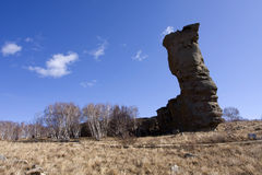 Zona scenica della foresta di pietra di Arshihaty Fotografia Stock