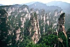 Zona scenica di Wulingyuan, Cina Immagini Stock Libere da Diritti