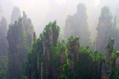 Zona scenica di Wulinyuan Fotografie Stock