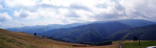 Zona selvaggia da Carpathians rumeni Fotografia Stock