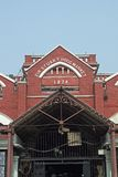 Zona storica del mercato in Kolkata Fotografie Stock