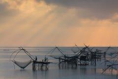 Zona umida e lago della Tailandia Fotografia Stock Libera da Diritti