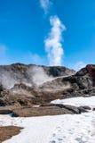 Zona vulcanica di Krafla, Islanda immagine stock