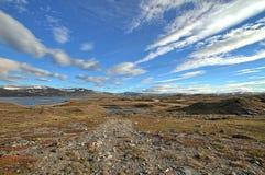 Zonas altas árticas fotografia de stock