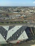 Zonas das docas de Costco na cidade de Melbourne Fotografia de Stock Royalty Free