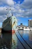 Zonas das docas de Melbourne Foto de Stock Royalty Free