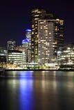 Zonas das docas de Melbourne, Austrália Imagem de Stock Royalty Free