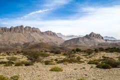 Zonas de influencia Omán Foto de archivo libre de regalías