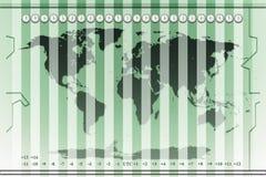 Zonas horarias Ilustración del Vector