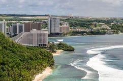 Zonas tropicales de Guam Imagen de archivo