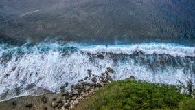 Zonas tropicales de Guam fotografía de archivo