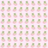 zonbedden over de roze achtergrond De de zomervakanties aten het overzeese zijconcept royalty-vrije stock foto's
