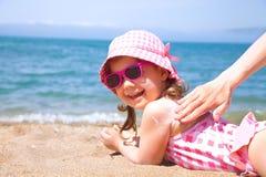 Zonbescherming stock afbeeldingen