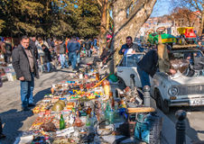 Zondagmarkt in Tbilisi Georgië Royalty-vrije Stock Afbeeldingen