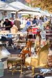 Zondagvlooienmarkt Royalty-vrije Stock Afbeeldingen