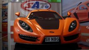 ZONDE Supercar Royalty-vrije Stock Afbeeldingen