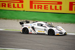 Zonder1 GT4 autorennen in Monza stock foto's