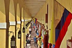 Zone d'atelier à Carthagène Colombie Image libre de droits