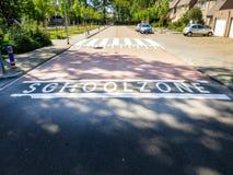 Zone d'école Image libre de droits