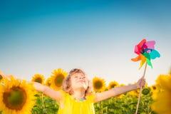 Zone d'enfant au printemps photos libres de droits